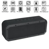60W Portable Wireless bluetooth Speakers Stereo Radio Super Bass Subwoofer AUX