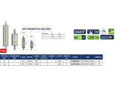 SHOT AIRAM SLD9510X2 LAMPADA LED LINEARE R7S 119MM 3000K