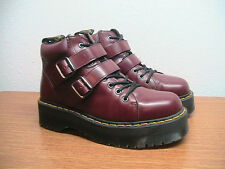 Womens 11 US, Mens 10 Dr. Martens Bryony Devon Red Style Ankle Boots, WORN ONCE