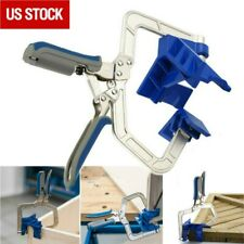 90 Degree Right Angle Corner Clamp Woodworking Wood for Kreg Jig Clamps Tool
