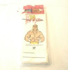 1991 HULK HOGAN - 18 Count  - Vintage Party Lunch Bags (II)