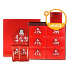 Cheong Kwan Jang Hong Sam Won Korean Red Ginseng Drink 50ml X 30 Pouches Fast Sh