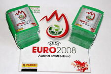 Panini EM Euro 2008 08 – 200 TÜTEN PACKETS BUSTINE SOBRES GREEN + ALBUM, MINT!