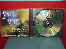 SPIDERS AND SNAKES - LOST FOR WORDS 1993 - DJ / SINGLE, RARE, OOP, METAL