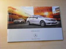 25476) Mercedes C-Klasse W204 Polen Prospekt 2006
