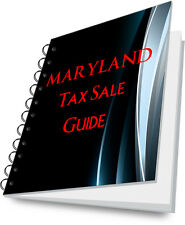 MARYLAND Tax Lien Certificate Tax Sale Guide NEW!