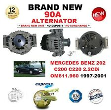 FOR MERCEDES BENZ 202 C200 C220 2.2 CDi OM611.960 1997-2001 NEW 90A ALTERNATOR