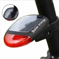 3 Mode Solar Power 2 LED Rear Flashing Tail Light Lamp For Bicycle Cycling Bike