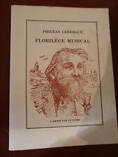 Philéas Lebesgue Florilège musical illustré