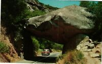 Vintage Postcard - Arch Rock Kings Canyon National Parks Sequoia Un-Posted #4691