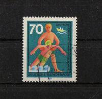 Bund 634 I gestempelt Berlin Plattenfehler BRD Rundstempel Michel -- . -- used