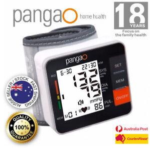 Digital Wrist Blood Pressure Monitor Automatic Memory Pangao No Voice PG800A11