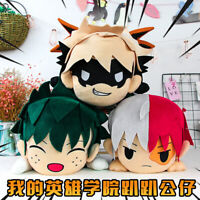 My Hero Academia Todoroki Shouto Soft Plush Toy Stuffed Doll Midoriya Izuku Gift