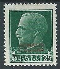 1931 SOMALIA EFFIGIE 25 CENT MH * - G124