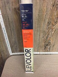 """LEVOLOR 55"""" X 72"""" Seashell Linen Light Filtering Cordless Roller Shade"""
