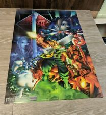 Final Fantasy VII 7 Versus Books Poster ULTRA RARE