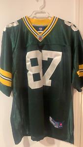 Vintage Reebok Jordy Nelson #87 Green Bay Packers Mens 50 NFL Football Jersey