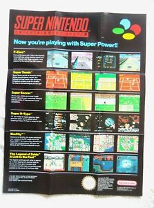 55019 Instruction Insert - Now You're Playing With Super Power - Nintendo S