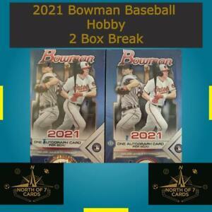 Chicago White Sox - 2021 Bowman Baseball Hobby - 2 Box Team Break #1