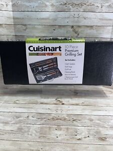 Cuisinart Premium 10Pc Grilling Set for Gourmet Outdoor Grilling-New Set
