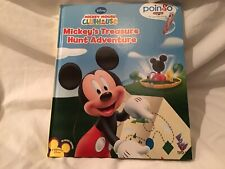 DISNEY Mickey Mouse Clubhouse Mickeys Treasure Hunt Adventure Book Hardcover NEW