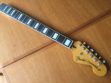 Fender Coronado II guitar neck loaded with tuners crafted in china