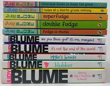 Judy Blume Lot Of 10 Paperbacks Fudge Series Various Chapter Books