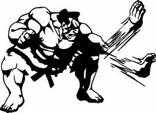 E. Honda Street Fighter Decal Sticker for Car/Truck Laptop Window Custom