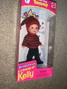 1998 Winter Fun Tommy Doll Adventures With Li'l Friends Of Kelly