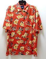 NEW Disney Parks Tommy Bahama Mickey Mouse Hawaiian Floral Camp Shirt S - 3XL