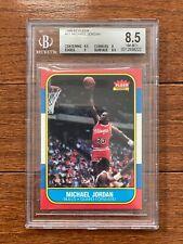1986 Fleer Michael Jordan Rookie, BGS 8.5 NM-MT+
