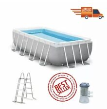 INTEX Pool Prism Frame - 400 x 200 x 100 cm ✅ FAST DELIVERY 💨