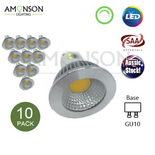 NEW 5W LED Dimmable Spotlight GU10 240V 10 Pack