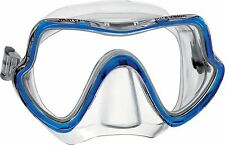 Mares Pure Vision Single Lens Wide View Diving / Snorkelling Mask - Blue