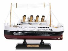 Wooden Model of RMS Titanic Ship, 20 cm