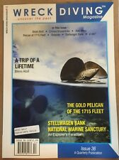 Wreck Diving Magazine Uncover The Past Issue 36 2015 FREE SHIPPING!