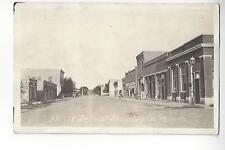 Street Scene, Grey Eagle, Minnesota RPPC