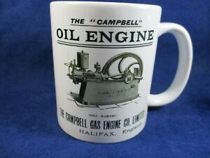 Campbell Stationary Engine Mugs Ideal for Rallies Meetups Caravan