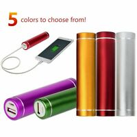 5x Portable External USB Power Bank Battery Charger For Mobile Devices, iPhone