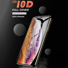 Self Adhesive Genuine Full Screen Protector 10D Tempered Glass for Mobile Phone