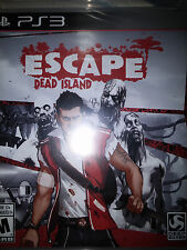 PS3 Escape Dead Island Game |BRAND NEW FACTORY SEALED Playstation 3