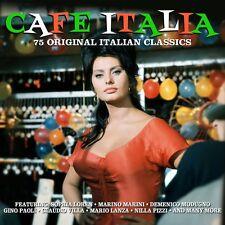 Cafe Italia - 75 Original Italian Classics (3CD 2013) NEW/SEALED