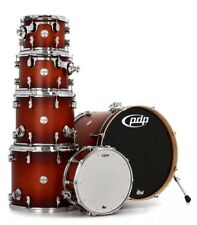 PDP by DW Concept Maple CM6 Satin Tobacco Burst Shell Pack (PDCM2216STB) NEW!