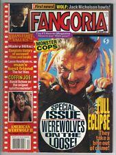 Fangoria  number 129 , December 1993 , Wolf , Jack Nicholson ,Werewolf