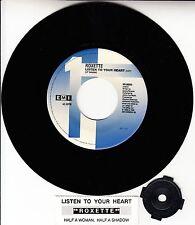 "ROXETTE Listen To Your Heart 7"" 45 rpm record NEW + juke box title strip RARE!"