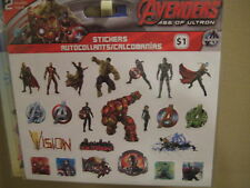Mavel Avengers age of ultron movie sticker 2 sheets with 33  stickers
