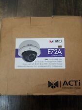 Acti Corp. E72A 3Mp Outdoor Dome With D/N Ir Basic Wdr