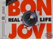 BON JOVI REAL LIFE PROMO CD 2 tracks