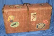 DISNEY PARKS & RESORTS Original Cast Member Prop~Vintage Suitcase (Steamer Trunk