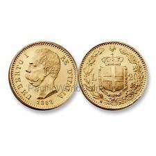 Italy 1882R 20 Lire Gold SKU#6598